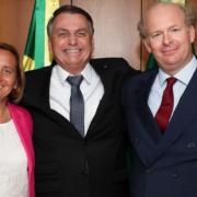 Beatrix und Sven von Storch netzwerken mit Bolsonaro